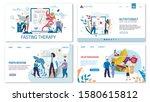 proper nutrition  diet ... | Shutterstock .eps vector #1580615812
