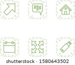 6 basic elements icons for...