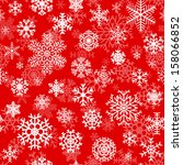 christmas seamless pattern from ... | Shutterstock .eps vector #158066852