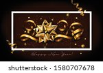new year typographical creative ... | Shutterstock .eps vector #1580707678