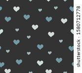 heart abstract seamless pattern.... | Shutterstock . vector #1580712778
