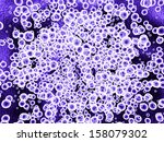 mauve microcells | Shutterstock . vector #158079302