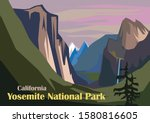 Tunnel View Landscape  Yosemite ...