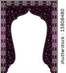 traditional antique ottoman... | Shutterstock .eps vector #15808480