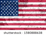 national flag of the united... | Shutterstock . vector #1580888638