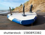 Wet Blue And White Sup Board...