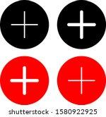 plus icon or logo vector image