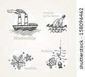 beach,beverage,black,bottle,creative,drawing,element,filigree,fish,fishing,graphic,handmade,icon,illustration,image