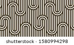 stripy vector seamless pattern... | Shutterstock .eps vector #1580994298