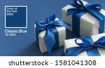 color of the year 2020 classic... | Shutterstock . vector #1581041308