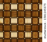 Carved Wood Texture Pattern  3d ...