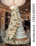 Big Sweet Wedding Cake For...