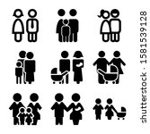 family icon isolated sign... | Shutterstock .eps vector #1581539128