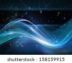 fractal realms series. backdrop ... | Shutterstock . vector #158159915