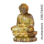 Jade Buddha Meditation Statue...