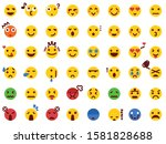 48 various emoticon pack...