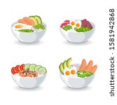 set of illustrations with... | Shutterstock .eps vector #1581942868