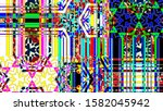 colorful abstract background... | Shutterstock . vector #1582045942
