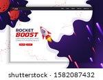 rocket boost website landing...