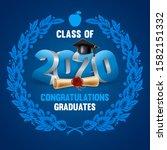 congratulations graduates class ... | Shutterstock .eps vector #1582151332