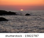 sunset | Shutterstock . vector #15822787