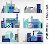 yapı,iş,şehir,kavramı,inşaat,enerji,mühendislik,çevre,fabrika,grafik,simge,illüstrasyon,endüstriyel,sanayi,alımı