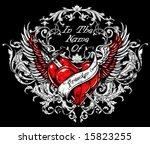 vector t shirt design | Shutterstock .eps vector #15823255