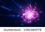 vector digital speed technology ... | Shutterstock .eps vector #1582384978