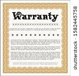 object oorange formal warranty ...   Shutterstock .eps vector #1582445758
