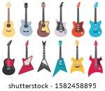 Flat Guitars. Electric Rock...