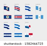 countries of central america... | Shutterstock .eps vector #1582466725