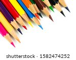 Colored Pencils Background....