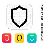 shield icon. vector...