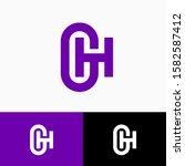 g  h logo. g and h monogram....
