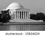 The Thomas Jefferson Memorial...