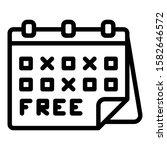 free shipping calendar icon....