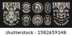 monochrome of vector... | Shutterstock .eps vector #1582659148