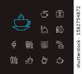 cafe icons set. coffee and cafe ...