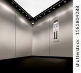 stainless steel inside of...   Shutterstock . vector #1582804288