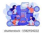 global distribution ... | Shutterstock .eps vector #1582924222
