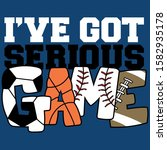 i have got serious game   Shutterstock .eps vector #1582935178