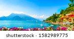 Varenna Town In Como Lake...