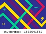 vector abstract blue background ... | Shutterstock .eps vector #1583041552