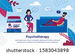 psychotherapy practice and... | Shutterstock .eps vector #1583043898