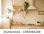 Light And Modern Kitchen ...