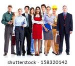 group of employee people.... | Shutterstock . vector #158320142