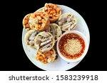 Fried nuts potatoes tofu thai...