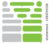 set short message service...   Shutterstock .eps vector #1583254138