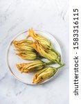 Fresh Zucchini Flowers  Fiori...