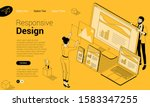 flat design isometric vector...